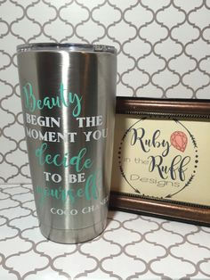 The COCO Tumbler by RubyInTheRuffDesigns on Etsy