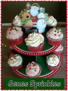 Dec special 1dz cupcakes for $18 .. Pick up only
