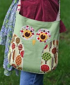 owl bag!--YW girls camp!