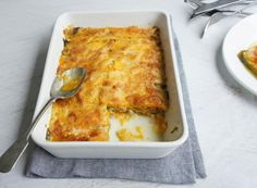 An easy vegetable bake that can be sliced up for a delicious lunch.