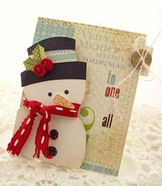 Creative Paper Trail: where there is holiday cheer...