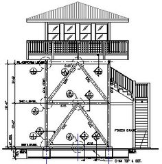 1000 images about fire watch towers on pinterest for Observation tower plans