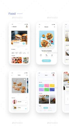 This is our daily android app design inspiration article for our loyal readers.Every day we are showcasing a android app design whether live on app stores or only designed as concept. Web Design, App Ui Design, Interface Design, Food Design, User Interface, App Design Inspiration, Ui Kit, Application Ui Design, Conception D'applications