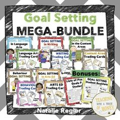 Goal Setting Giveaway! - To celebrate my newly updated goal setting bundle, I am holding a giveaway. My goal setting resources now include a 3 point and a 4 point scale..  A GIVEAWAY promotion for Goal Setting Bundle: ELA, Behaviour, Writing, Content Areas, and Arts Ed from Teaching With a Touch of Honey on TeachersNotebook.com (ends on 2-14-2016)