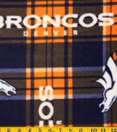 0781f0c16a6 The NFL Flannel Fabric 42 is a perfect choice for those who take their  football seriously. Made of 100% cotton