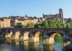 Toulouse, la ville rose.
