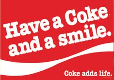 coke and a smile   Have a Coke and a Smile decorative house flag - flagsrus