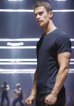 I would jump off any roof if he was waiting at the bottom for me....just saying!! Theo James!