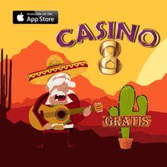"""Descarga #Casino8 #GRATIS y juega la nueva máquina de """"El Mariachi"""" https://itunes.apple.com/mx/app/casino-8-slots-espanol-tragamonedas/id768844462?mt=8"""