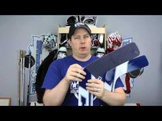 A question I'm often asked is how I break in my goalie equipment. In this tutorial I show how I quickly break in my leg pads, catcher, and blocker to make th...