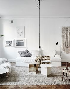 living room with wall art idea |  (my) unfinished home