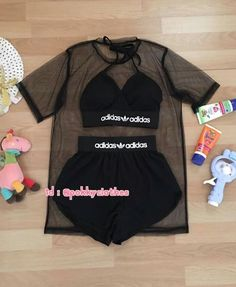 Ropa deportiva Cute Lazy Outfits, Cute Swag Outfits, Sporty Outfits, Teenage Outfits, Pretty Outfits, Stylish Outfits, Girls Fashion Clothes, Teen Fashion Outfits, Jugend Mode Outfits