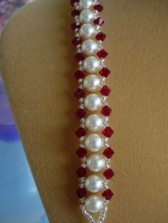 I just love this bracelet and it can be ordered in many different colors of pearls that I have available. Here are a few samples. Bra...