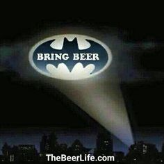 "Had to bust out the beer signal! Check out TheBeerLife.com and use coupon code ""thebeerlife"" to get 20% off your first order!"
