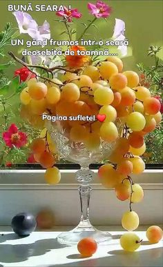 Good Morning Coffee, Good Morning Picture, Good Morning Flowers, Good Morning Good Night, Morning Pictures, Beautiful Fruits, Beautiful Gif, Beautiful Flowers, Art Du Vin