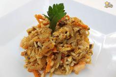 Otra delicia sale de la cocina de ElGranChef: una receta de arroz frito. ¡Es momento de aprenderla! Podría ser perfectamente tu cena de hoy, o tal vez el almuerzo de mañana, ¿no?Con este nuevo vídeo e