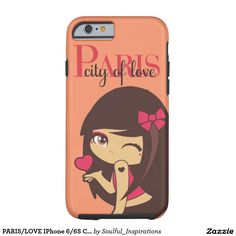 PARIS/LOVE IPhone 6/6S Case Tough iPhone 6 Case