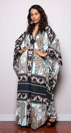 Boho Kaftan Dress  - Kimono Butterfly Maxi Dress : Funky Elegant Collection