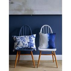Feel good watercolour designs by Scottish designer Fi Douglas. Modern and abstract floral bedding, cushions & home accessories. Bluebellgray now ship worldwide. Ercol Dining Chairs, Ercol Chair, Ercol Furniture, Upcycled Furniture, Dining Room, Desk Chairs, Office Chairs, Room Chairs, Dining Set