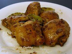 Chicken Adobo, Food Safari Chef Ricky Ocampo's Recipe on Yummly. Ono Kine Recipes, Pork Recipes, Asian Recipes, Cooking Recipes, Recipies, Chicken Recipes Filipino, Best Filipino Recipes, Filipino Dishes, Recipe Chicken