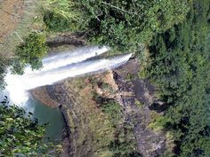 One of the many waterfalls in Kauai
