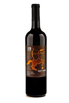 Sagittarius Wine by 12 Signs Wine; Old Vine Zinfandel