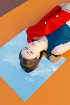 Colourful and Geometric Fashion Photographs Swedish photographer Gabriel Isak Creative Fashion Photography, Fashion Photography Inspiration, Creative Portraits, Creative Art, Mirror Photography, Reflection Photography, Portrait Photography, Photography Ideas, Artistic Photography