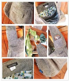 cool - made out of men's jacket - also some good tips on making of purses!!!