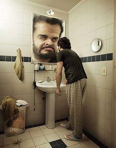 Miedo a verse en el espejo