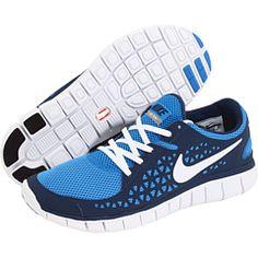 timeless design 12dbf d792b Nike free run photo blue white starlight white