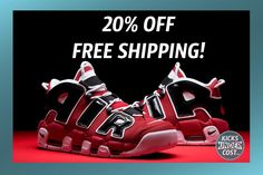 e735f8a65fed Take 20% off the Bulls Uptempo with free shipping!