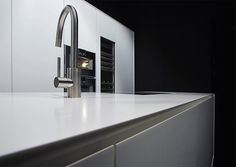 Cement, clay, raw oak + clay, solid surface made RiFRA kitchens