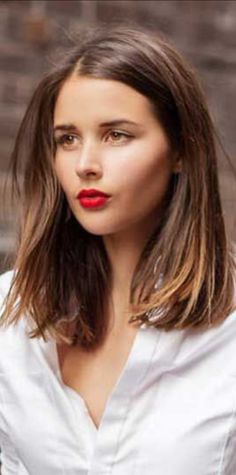 Long Bob Hairstyles 301670875033411126 - Try Fiesta for a similar lip Source by Long Bob Haircuts, Bob Hairstyles, Trendy Hairstyles, Gorgeous Hairstyles, Layered Hairstyles, Winter Hairstyles, Medium Hair Styles, Curly Hair Styles, Hair Medium