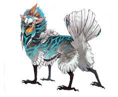 Featherbutt design by Tatchit.deviantart.com on @deviantART