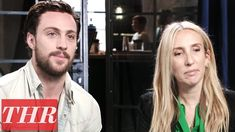 Aaron Taylor-Johnson Talks Working With Wife & Director Sam on 'A Millio...