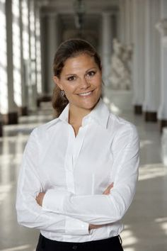 Victoria, Crown Princess of Sweden, Duchess of Västergötland (Victoria Ingrid Alice Désirée; born 14 July 1977), Karolinska University Hospital, Solna, Sweden