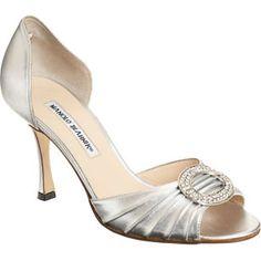 5. Manolo Blahnik Sedaraby – Silver - 10 Hottest Manolo Blahnik Shoes ... | All Women Stalk