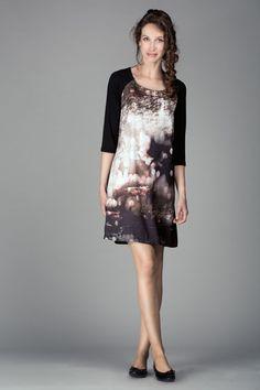 Robe liquette imprimée. Collection Nina et Moi