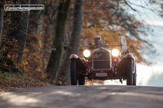Herbstfahrt im Alfa Romeo 6C 1750  © Daniel Reinhard #AlfaRomeo #1930 #GranSportZagato