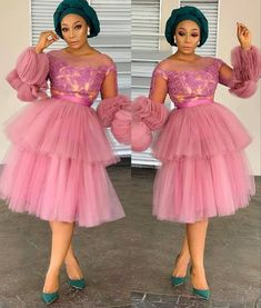 71 Collections Of - Beautiful Aso Ebi Style Lace & African Print For December 2019 - Women's style: Patterns of sustainability Nigerian Lace Dress, Nigerian Lace Styles, Aso Ebi Lace Styles, Lace Gown Styles, African Lace Styles, Latest Aso Ebi Styles, Short African Dresses, Latest African Fashion Dresses, African Print Fashion