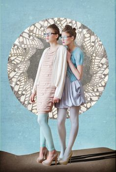 Pastel Color Fashion Trends  https://www.facebook.com/MissOlinaFashion http://www.missolina.com/