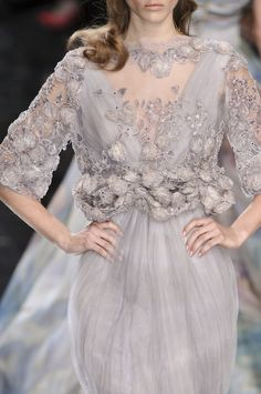 Elie Saab at Couture Spring 2010 - StyleBistro
