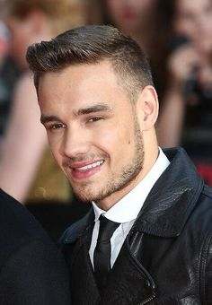 Liam rocking the facial hair!