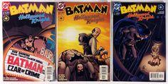 DC Comics - Batman Hollywood Knight #s 1-3 Full Run Comic Book Series Set 2001 - VG to VF Condition