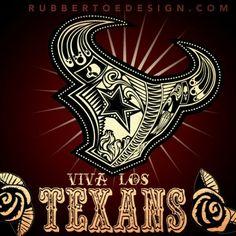 🐂🐂🐂🐂 Houston Texans Football, Dallas Cowboys Logo, Houston Astros, Denver Broncos, Texans Vs Cowboys, Pretty Cross Tattoo, Military Shadow Box, Sugar Skull Design, Indianapolis Colts