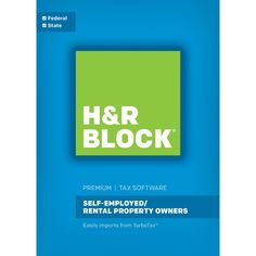 H&r Block 17 Premium Tax Software for Windows - Email Delivery