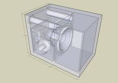 Loudspeaker design, Image result for subwoofer box design for 12 inch
