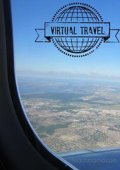 virtual travel: explore without leaving home   teachmama.com for @Melissa & Doug Toys