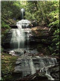 Upper DeSoto Falls, Lumpkin County, Georgia