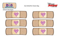 Free Bandaid Sticker Printable *Cute to seal the envelope before sending in the mail